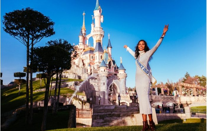 Miss France 2020 a réalisé son rêve à Disneyland Paris (VIDEO)