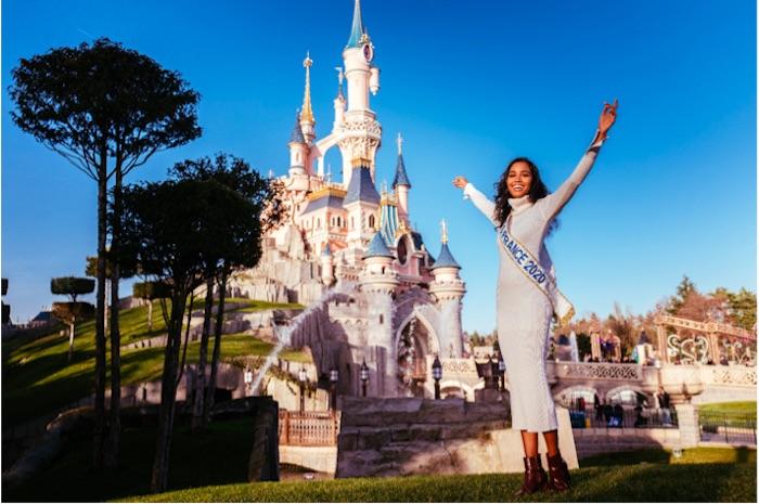 Miss France 2020 a réalisé son rêve à Disneyland Paris (VIDEO)