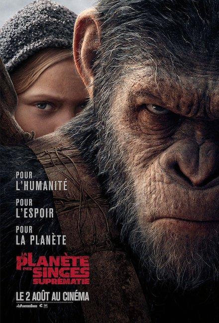 « La planète des singes : Suprématie »