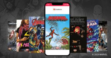 Les super-héros Marvel ont conquis Youboox !