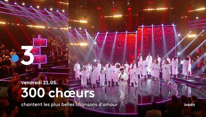 « 300 Chœurs chantent l'amour »