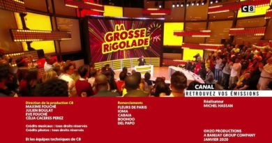 Audience « La grosse rigolade » du 17 janvier 2020 (+ replay)