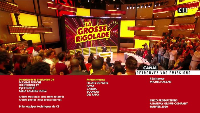 Audience « La grosse rigolade » du 17 janvier 2020