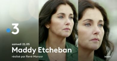 « Maddy Etcheban » : ce soir sur France 3 avec Cristiana Reali et LoriePester (vidéo)