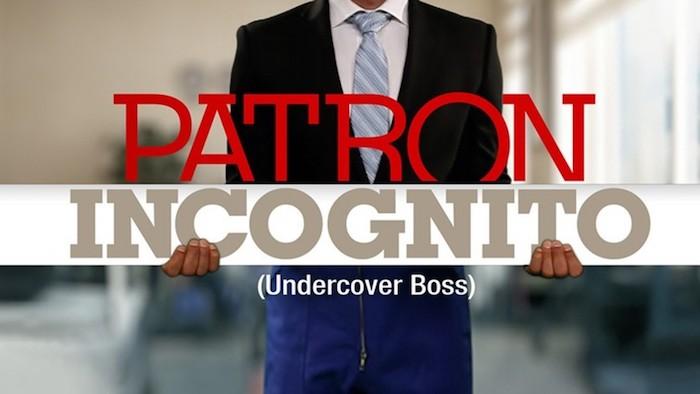 « Patron Incognito » du 31 mai 2021