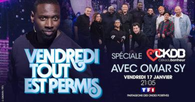 """Ce soir à la télé : """"Vendredi tout est permis"""" spéciale CÉKEDUBONHEUR avec Omar Sy (vidéo VTEP)"""