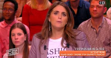 Valérie Bénaïm en contact avec le coronavirus, elle quitte l'antenne et Cyril Hanouna la remplace