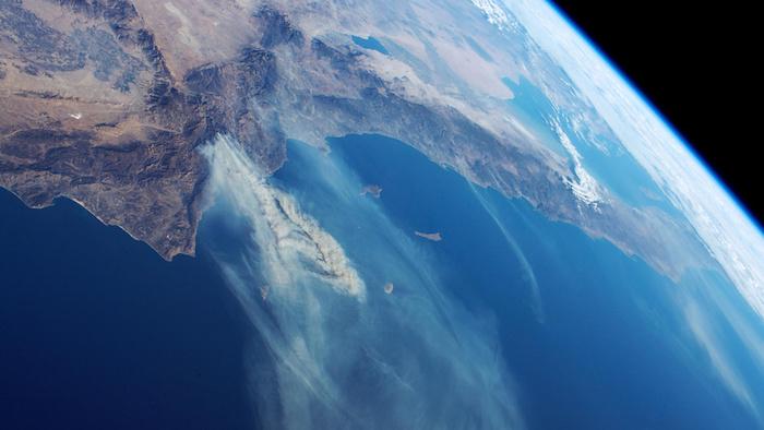 « La terre vue de l'espace »