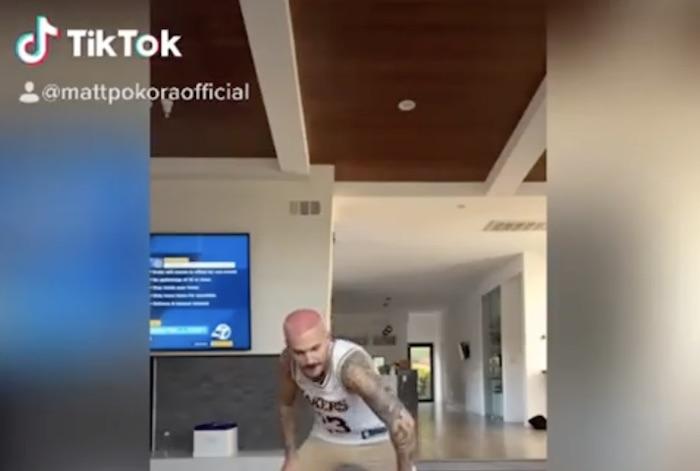 Matt Pokora débarque sur Tik Tok (VIDEO)