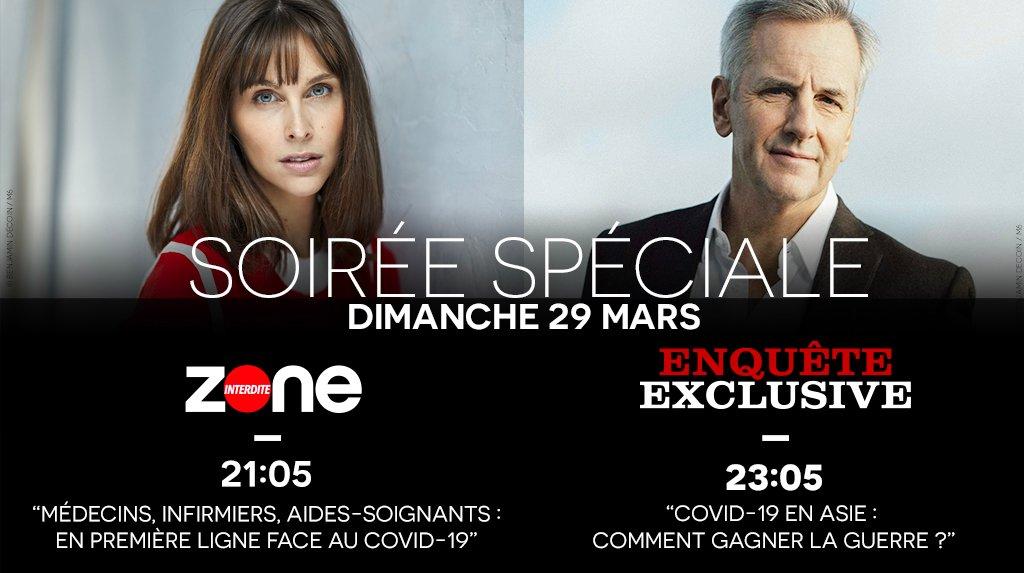 « Zone Interdite » et  « Enquête exclusive » du 29 mars