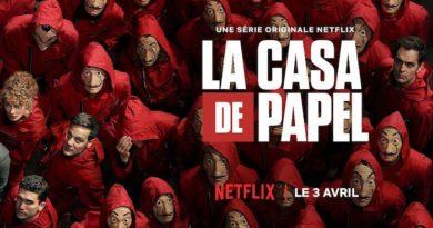 La saison 4 de La Casa de Papel disponible sur Netflix