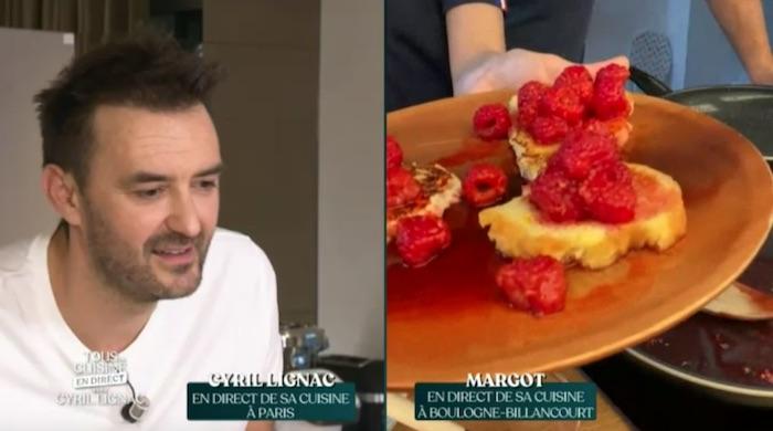 Tous En Cuisine Avec Cyril Lignac Le Menu Et Recettes