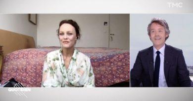 Quotidien : la chambre de Vanessa Paradis choque les téléspectateurs (VIDEO)