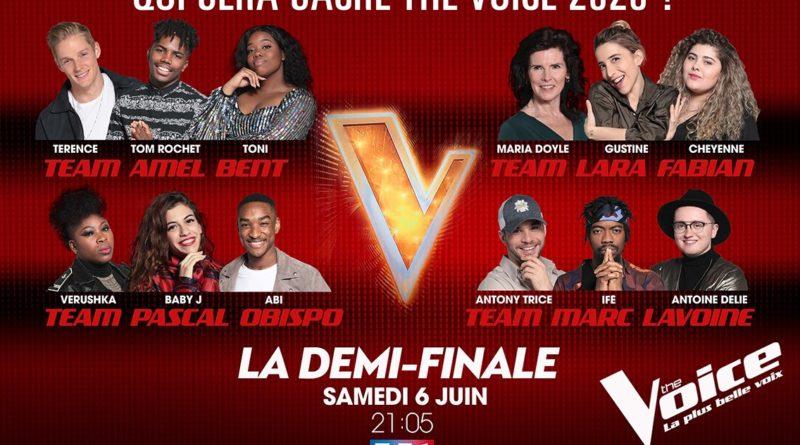 « The Voice » : ce soir, place à la demi-finale en direct (VIDEO)