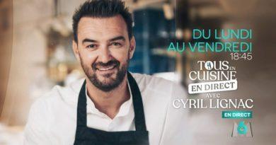 « Tous en cuisine » du 29 septembre : ingrédients et ustensiles pour les 2 recettes de Cyril Lignac ce soir