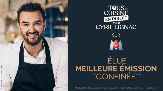 « Tous en cuisine » en direct avec Cyril Lignac