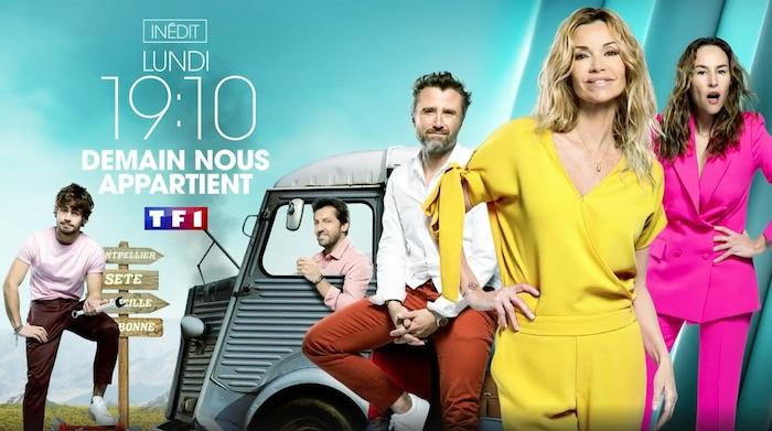 """Audiences access 24 juin : """"Demain nous appartient"""" puissant leader devant """"N'oubliez pas les paroles"""""""