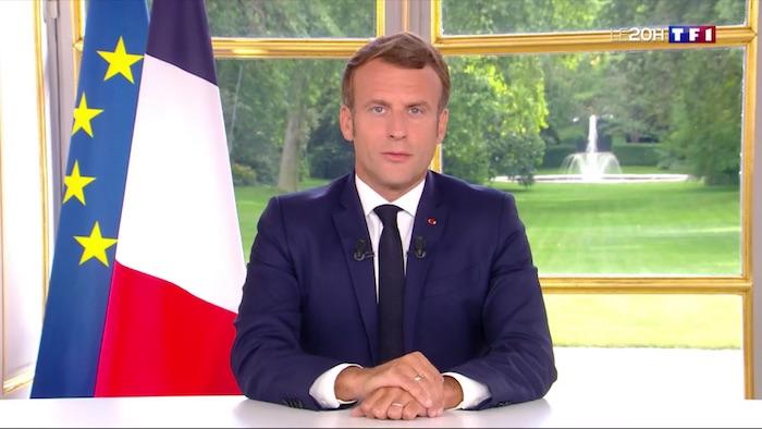 Audience record pour JT de TF1, l'allocution d'Emmanuel Macron largement suivie