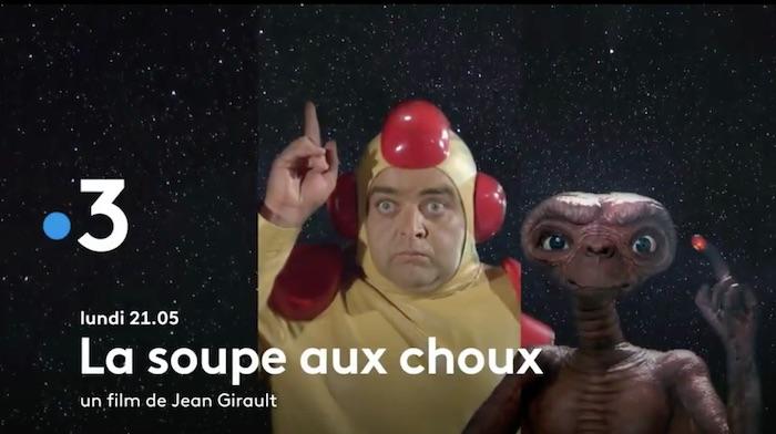 « La soupe aux choux » et « E.T. l'extra-terrestre »