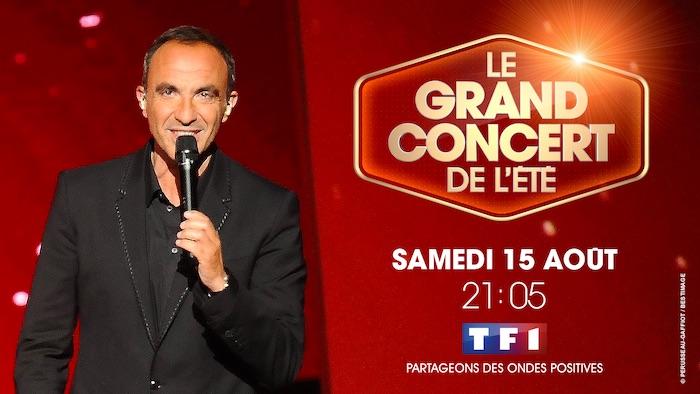 Le grand concert de l'été, présenté par Nikos, le 15 août sur TF1
