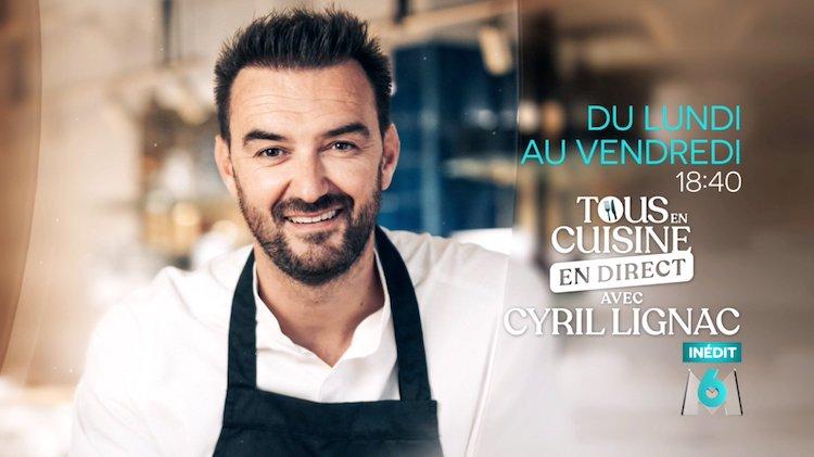 « Tous en cuisine en direct avec Cyril Lignac » du jeudi 27 août
