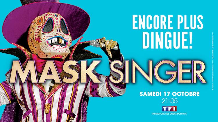 « Mask Singer » saison 2 dès le 17 octobre sur TF1