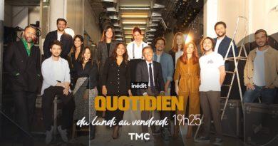 Nouveau record d'audience pour Quotidien et Yann Barthès