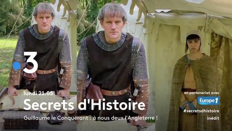« Secrets d'histoire » du 21 septembre 2020.