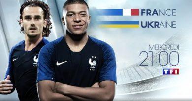 Suivez France / Ukraine en direct, live et streaming sur TF1 et MYTF1 (MISE A JOUR)