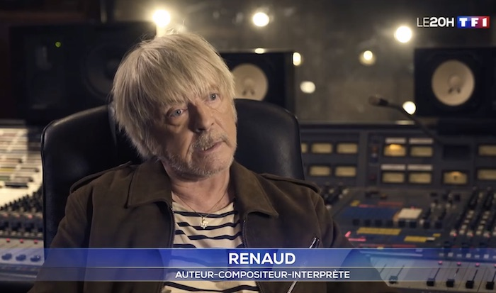 Le chanteur Renaud hospitalisé à Montpellier
