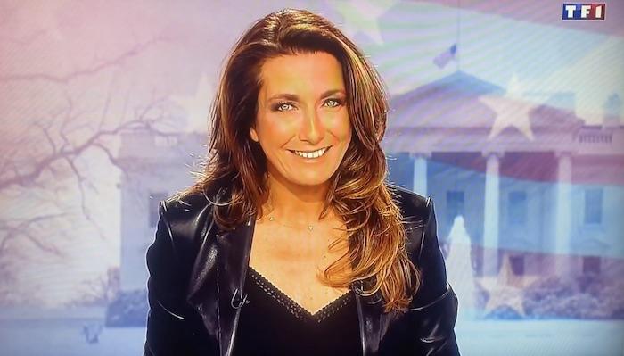 """La boulette d'Anne-Claire Coudray dans le 20h de TF1 : """"il a fumé la moquette"""" (VIDEO)"""