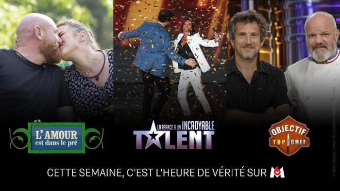 Fin de saison annoncée pour « L'amour est dans le pré », « Objectif Top Chef » « La France a un incroyable talent »