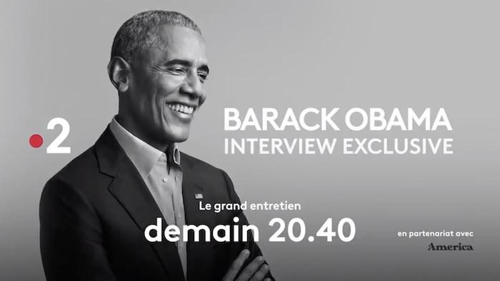 """L'entretien de Barack Obama ce soir sur France 2, à la place de """"Un si grand soleil"""" (VIDEO)"""