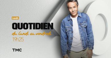 Audience Quotidien : 2ème semaine historique pour Yann Barthès