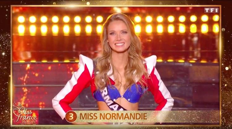 Amandine Petit  « Miss France 2021 »