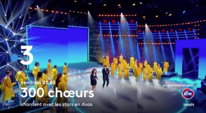 « 300 Chœurs » du 8 janvier 2021