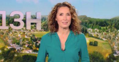 JT de 13h de TF1 : Marie-Sophie Lacarrau absente à cause de la Covid-19