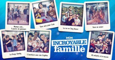 « Mon incroyable famille » déprogrammée dès ce lundi 18 janvier 2021 sur M6