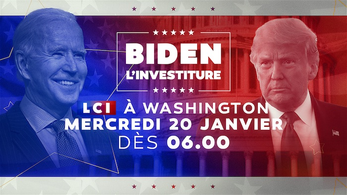 Investiture de Joe Biden : journée spéciale en direct de Washington sur LCI