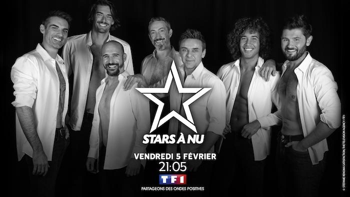 """""""Stars à nu"""" de retour le 5 février avec Laurent Maistret, Gil Alma et Camille Lacourt"""