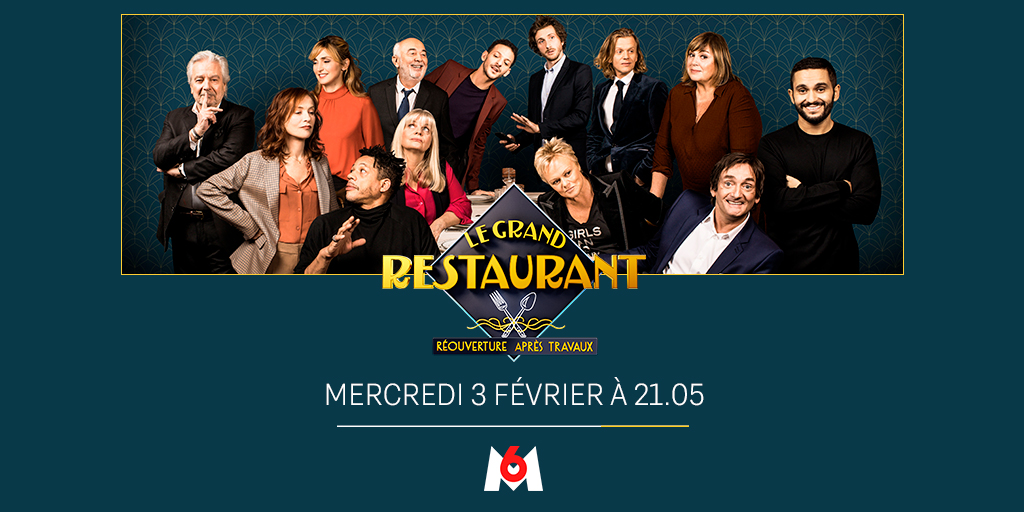 « Le Grand Restaurant » de Pierre Palmade