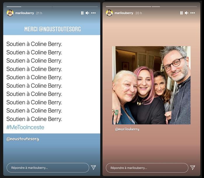 Richard Berry accusé d'inceste, Marilou Berry soutient sa cousine Coline
