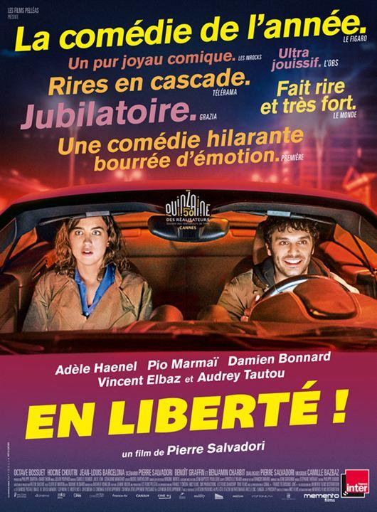 Affiche du film « En liberté » de Pierre Salvadori