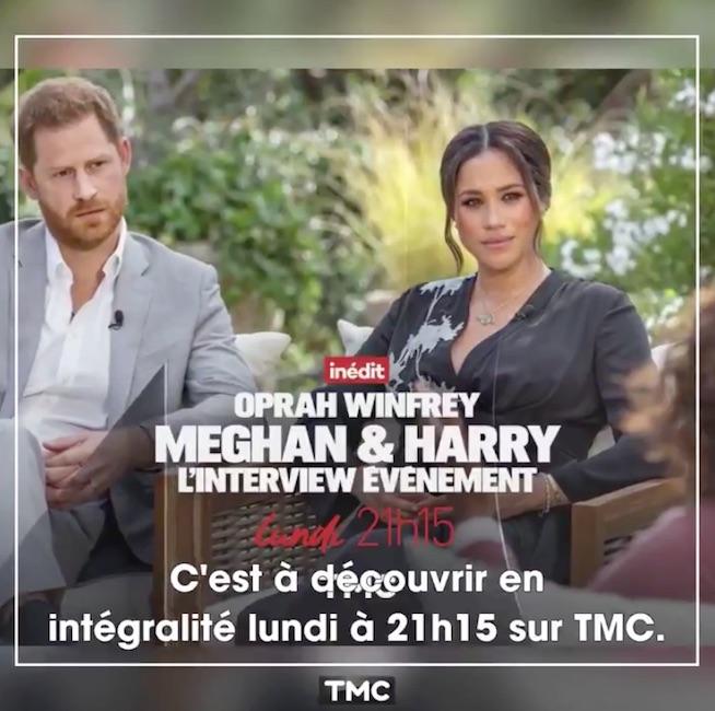 Harry et Meghan : leur interview choc sur TMC