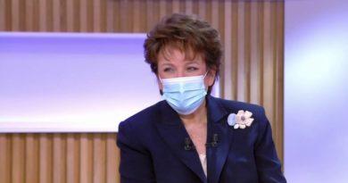 """Covid-19 : Roselyne Bachelot hospitalisée et placée sous """"oxygénothérapie renforcée"""""""