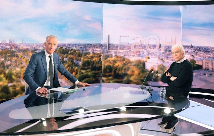 Bernard Tapie invité du 20h de Gilles Bouleau sur TF1 le 26 avril
