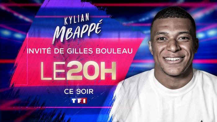 Euro 2021 : Kylian Mbappé invité du 20h de TF1 ce 18 mai