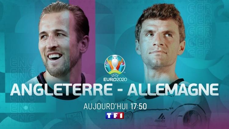 Euro 2020 : « Angleterre / Allemagne » et « Suède / Ukraine » à suivre en direct, live et streaming.
