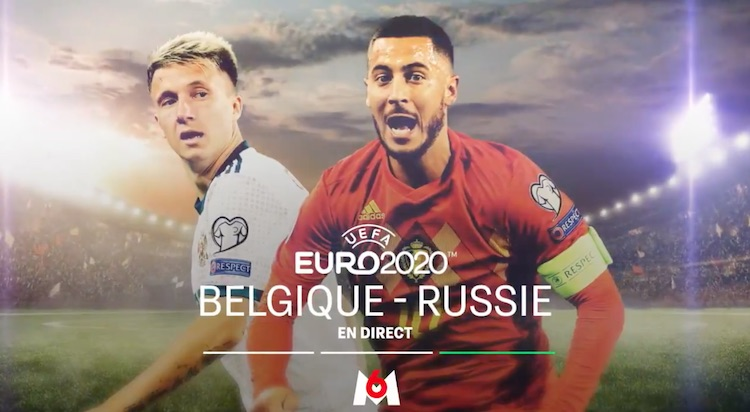Euro 2020  : Belgique / Russie