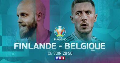 Euro 2020 «  Finlande / Belgique » : suivez le match en direct, live et streaming ce soir sur TF1 (score en temps réel et résultat final)